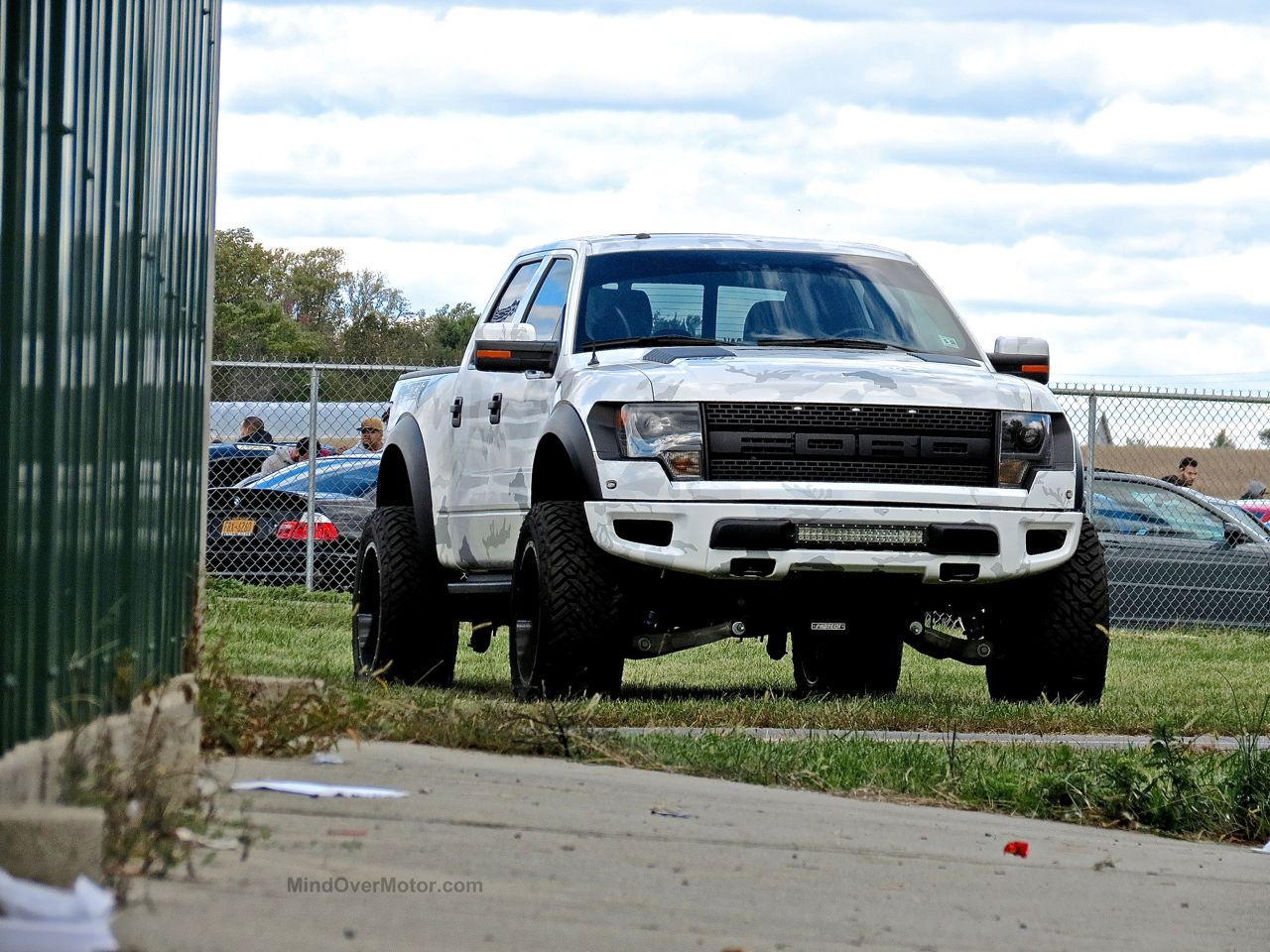 Ford SVT Raptor Camo First Class Fitment 1