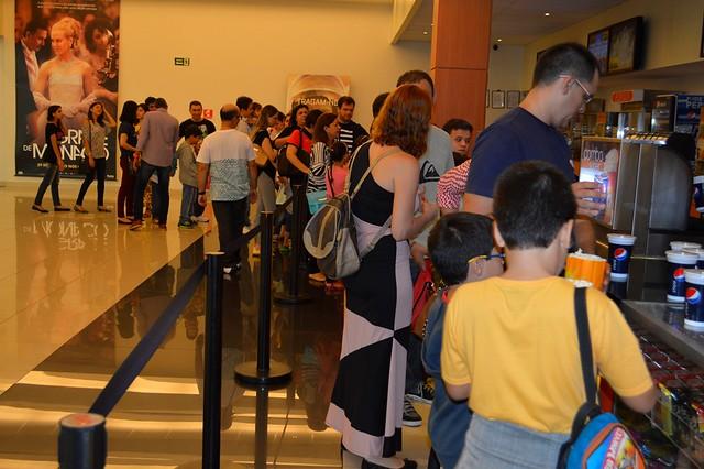 Crianças têm manhã de muita diversão em sessão de cinema oferecida pela AMMA
