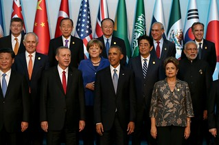 G20 Turkey Leaders Summit - Family Photo