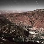Moonrise over Wadi Dana