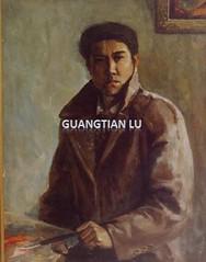 鲁光田的油画作品