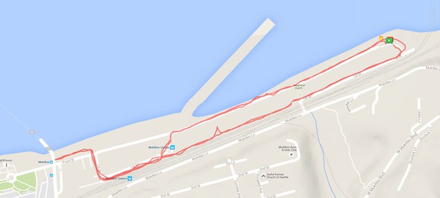 Yesterday's awesome walk, 3.04 miles in 56:30, 6,539 steps