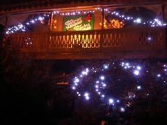 Hórreo navideño engalanado por BENI de #casaspradina #casarural #luanco #asturias