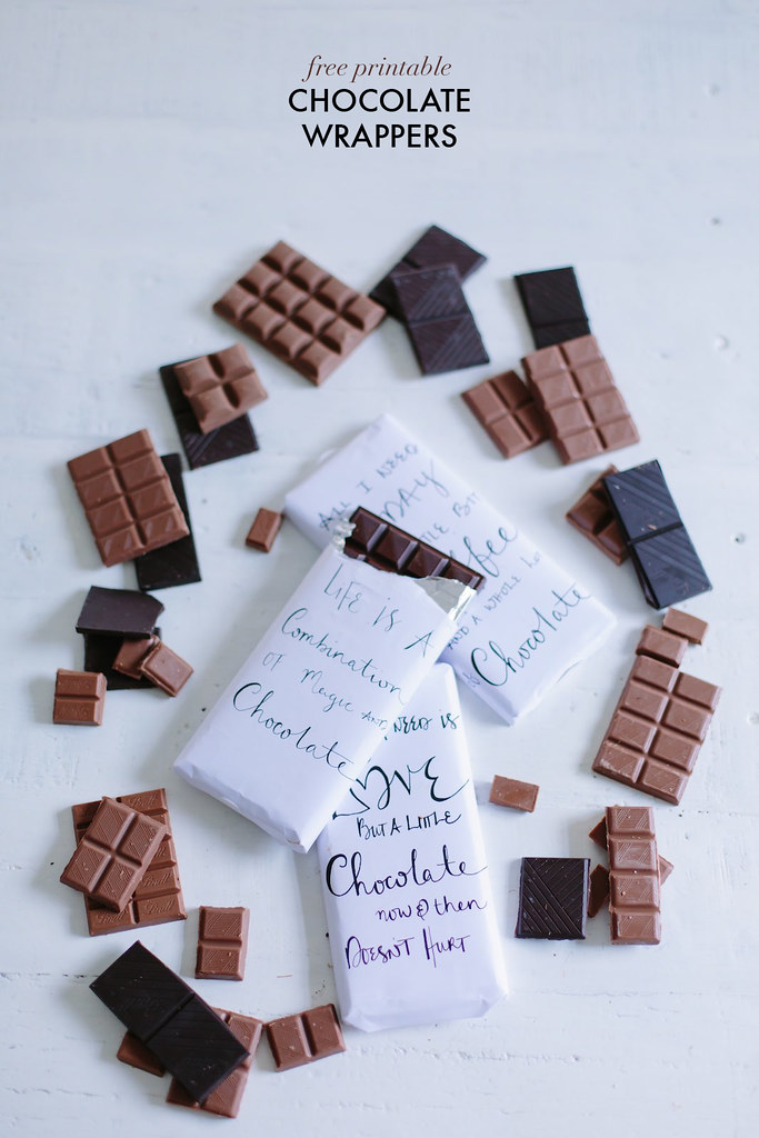 Free Printable Chocolate Wrappers