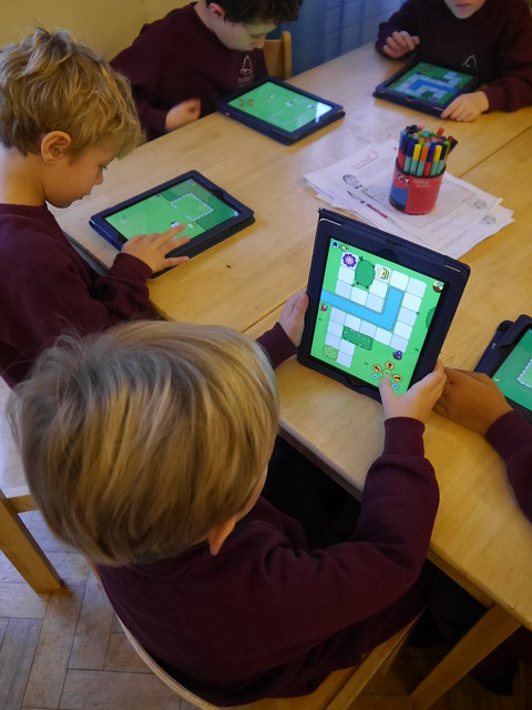 Y2 Bee-Bot iPads