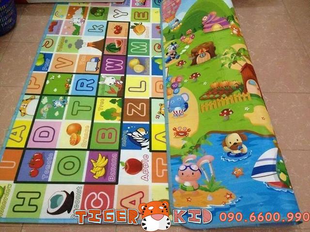 23303633799 5c34242578 z Thảm chơi trẻ em 2 mặt hàng tốt nhất hãng Maboshi kích thước 1,8x2m T 569