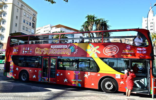 hop on and hop off / What To Do in Malaga, Spain