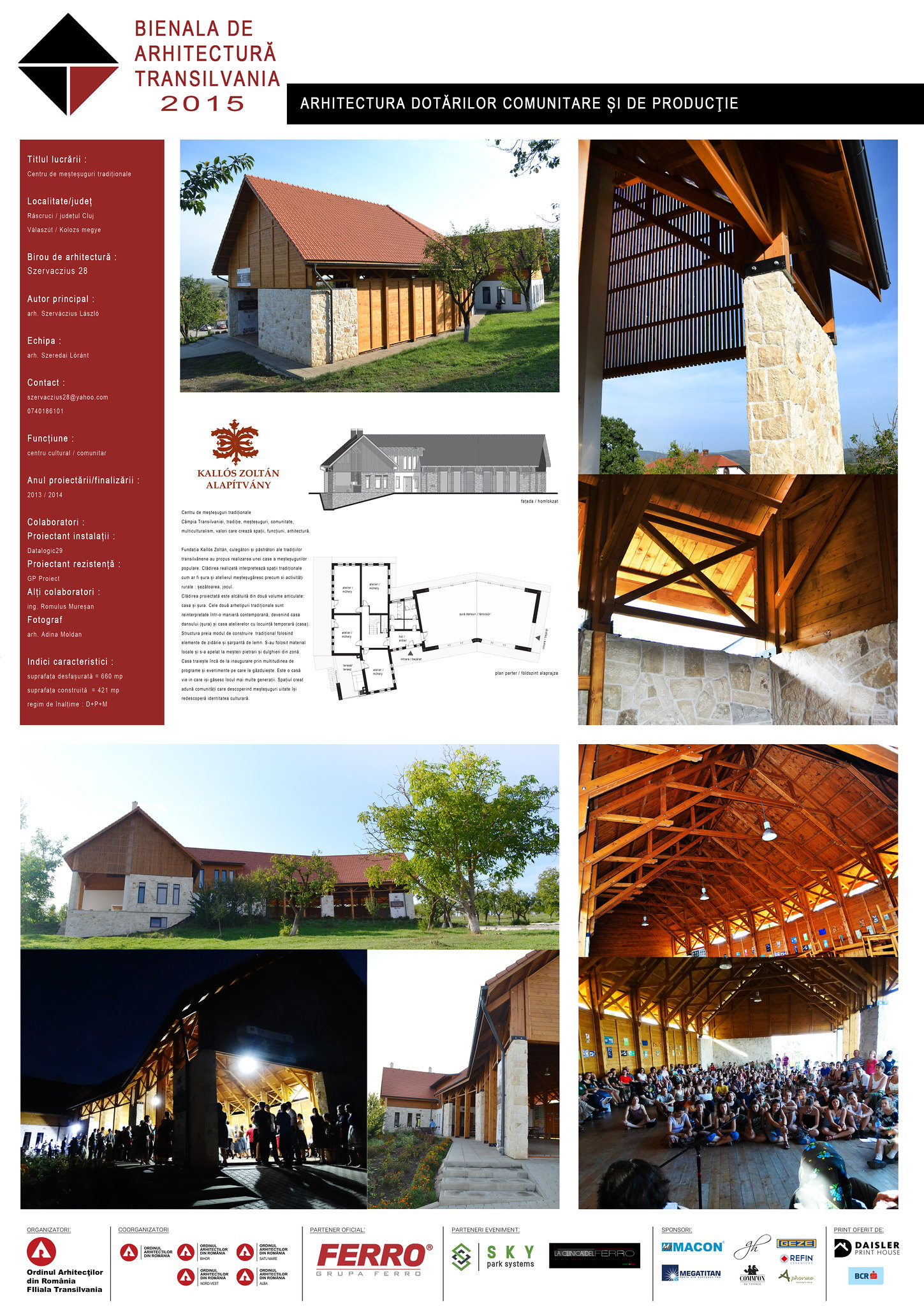 Arhitectura dotărilor comunitare și de producţie