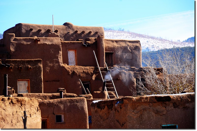 Taos Pueblo Adobe House 11