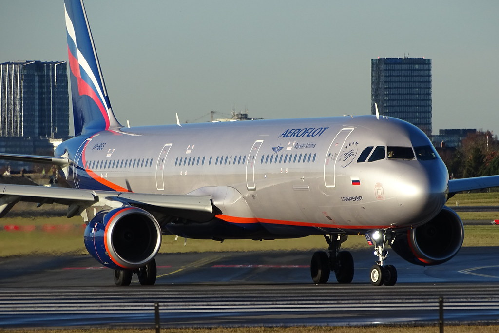 VP-BES - A321 - Aeroflot