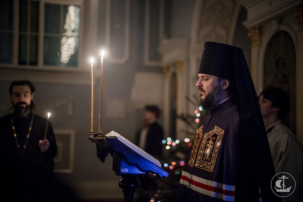 5 января 2017, Вечернее богослужение / 5 January 2017, Vespers