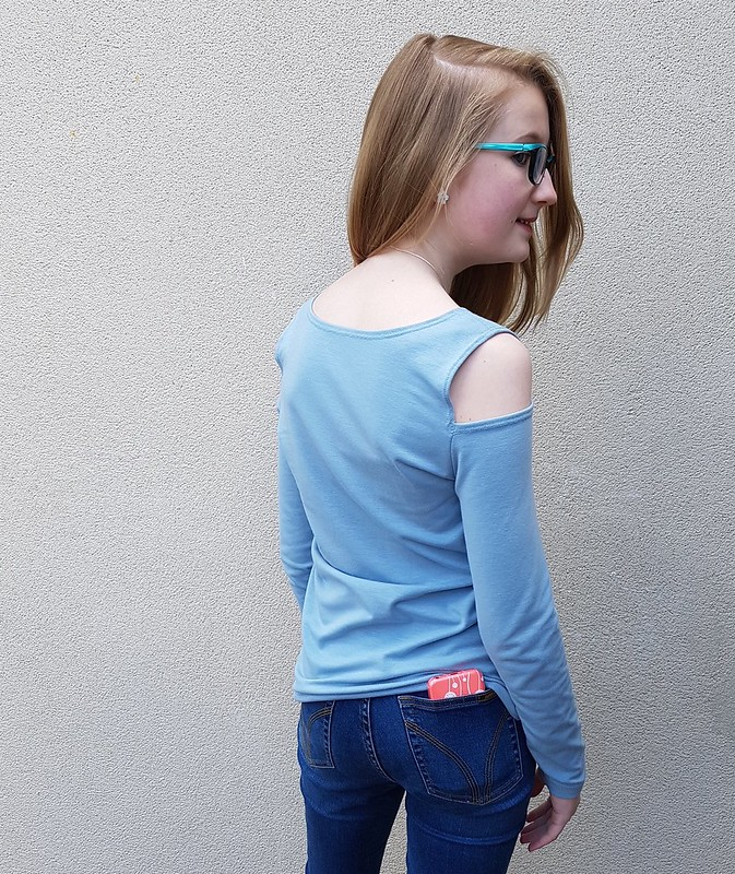 Style Arc Cold Shoulder top in cotton lycra from Crafty Mamas