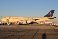 TF-AMI | Boeing 747-412(BDSF) | Saudi Arabian Airlines Cargo