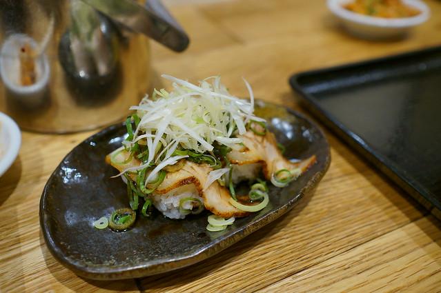 焼豚にぎり/叉燒握壽司
