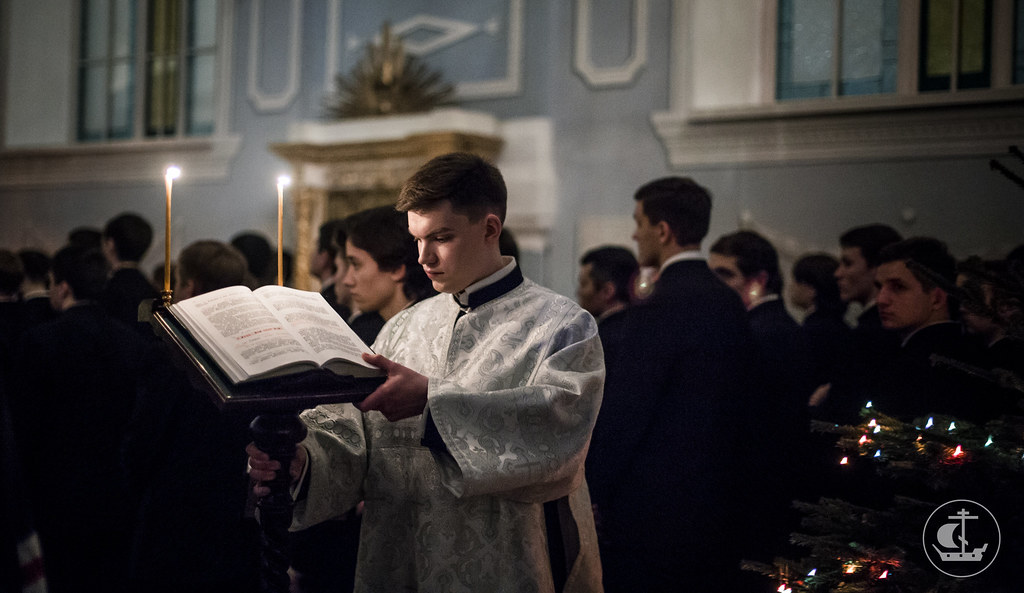 17 января 2017, Вечернее богослужение / 17 January 2017, Vespers
