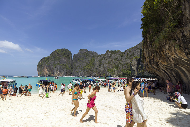 Maya Bay, beach lover.