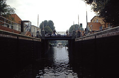 Hausboottour (95) Lübzer Schleuse