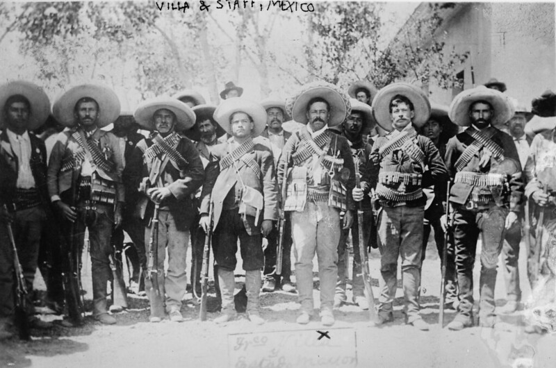 Mexican rebels during Mexican Revolution