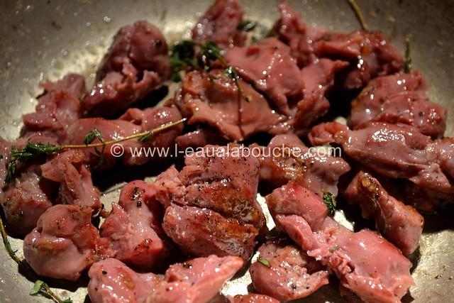 Salade de Gésiers de Canard Confits © Ana Luthi Tous droits réservés 001