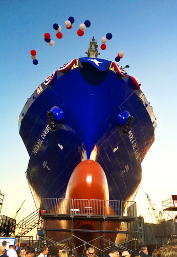TOTE launches second LNG-powered containership bound for JAXPORT