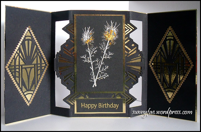 Art Deco Nigela Card