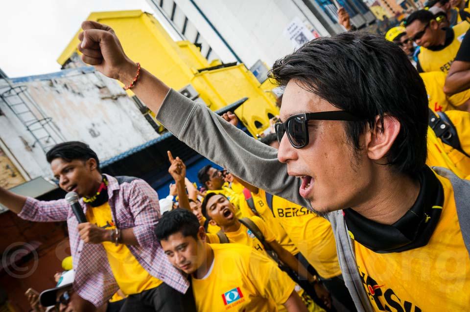 Adam Adli - Bersih 4 Rally @ Kuala Lumpur, Malaysia