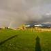 Rainbow over the ancient cemetery by supersky77