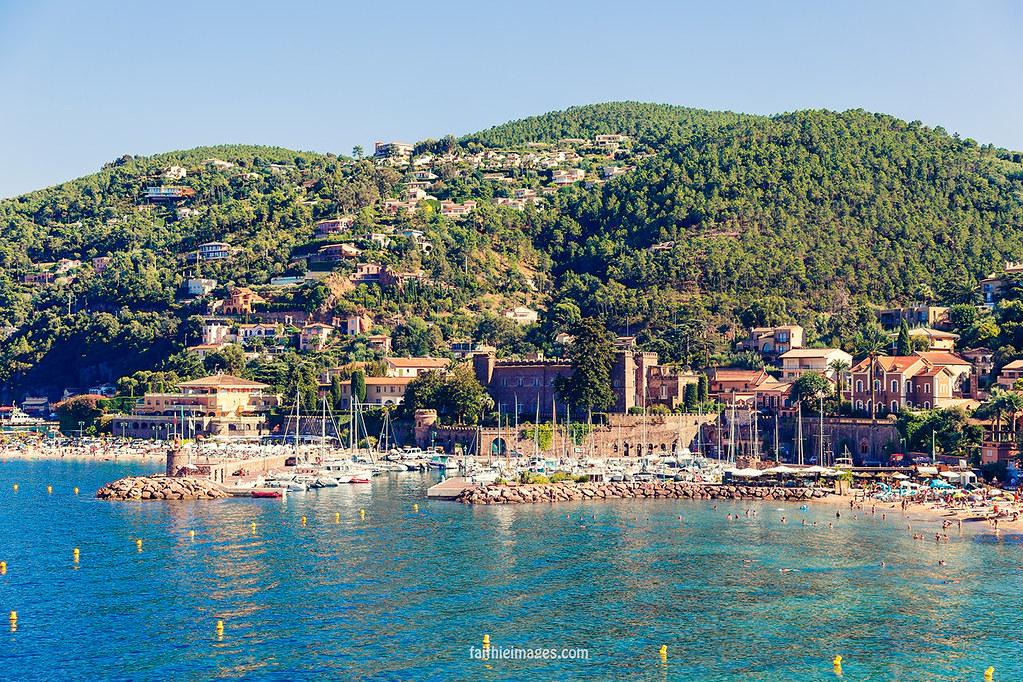 French Riviera landscape