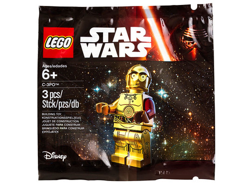 LEGO Star Wars: The Force Awakens C-3PO Minifigure (5002948)