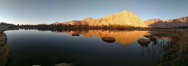 Dawn Panorama Reflections