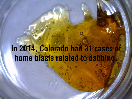 In 2014, Colorado had 31 cases of dabbing home blasts. thumbnail