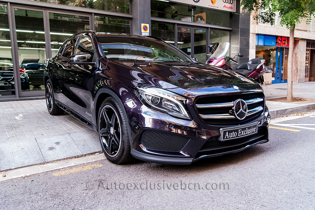 mercedes benz gla 250 4matic amg exclusivo auto. Black Bedroom Furniture Sets. Home Design Ideas