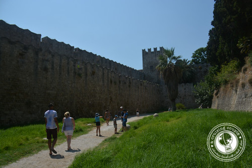 Walking Around Rhodes Old Town