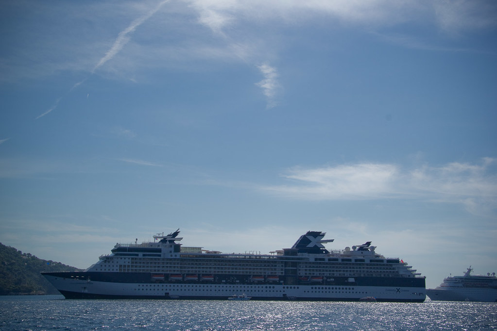 Celebrity Constellation in Villefranche