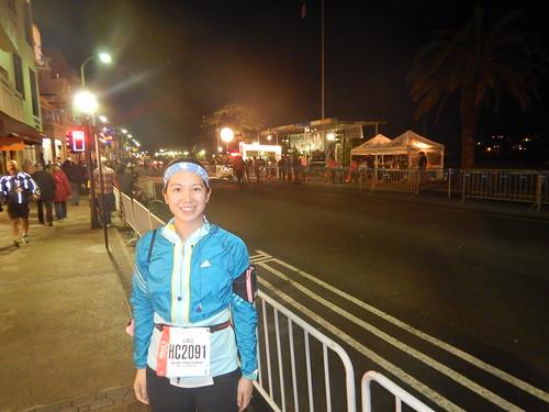 Mei before the race