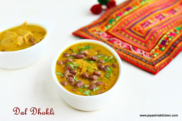 Dal - dhokli recipe