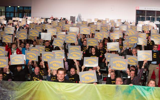 Gewerkschaftstag 2015 - Bilder des Tages 19. Oktober