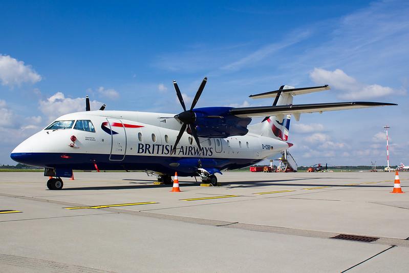 British Airways - D328 - D-CIRP (1)