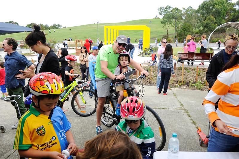 Sydney Park Bike Track City Of Sydney