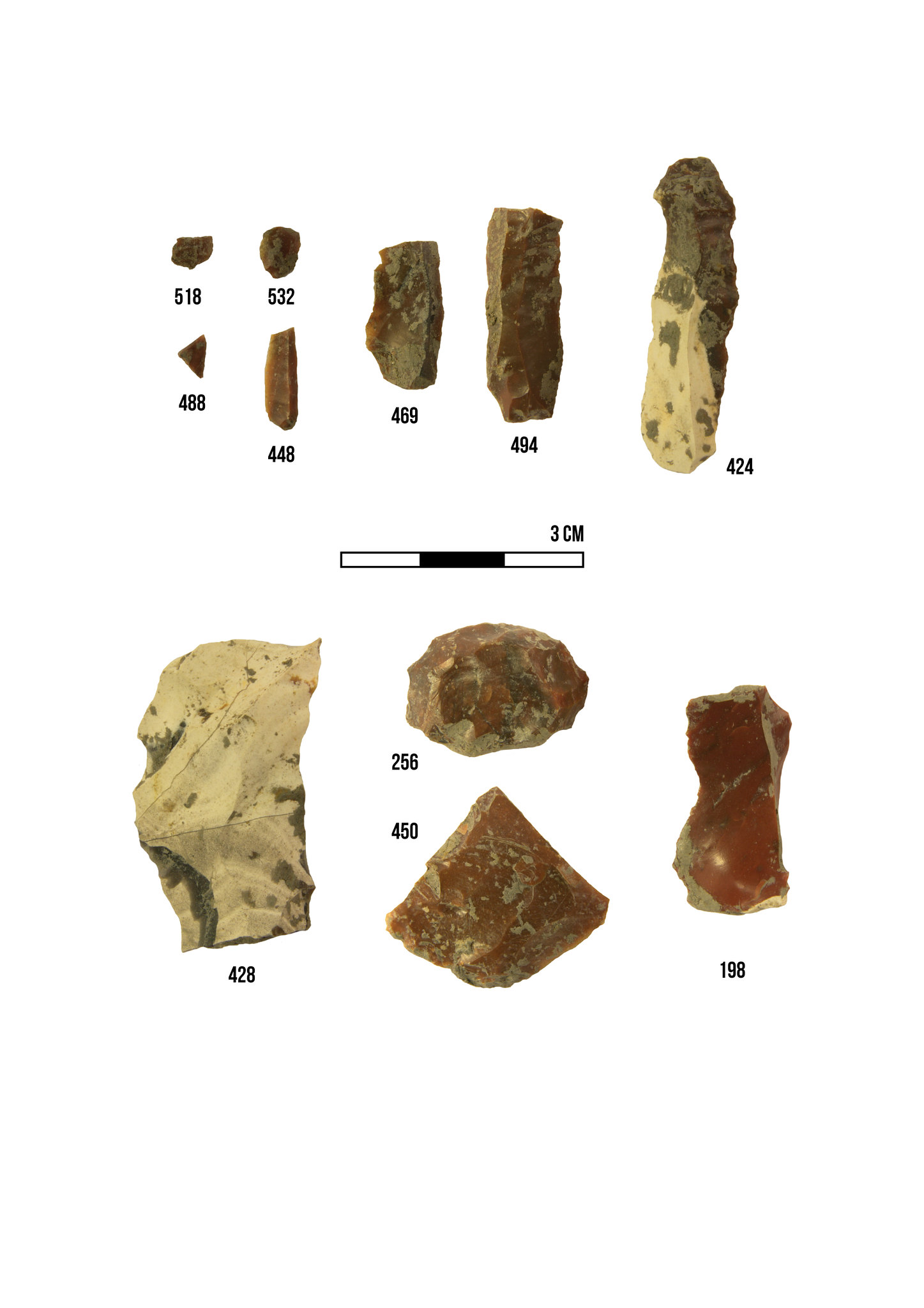 Mesolithic Epipalaeolithic site Páli, Hungary