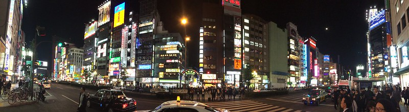 The lights of Shinjuku.