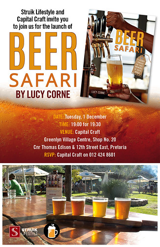 Invitation to the launch of Beer Safari