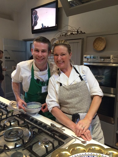 Pat Browne & Rachel Allen of Ballymaloe Cookery School