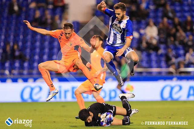 Copa del Rey. Deportivo - Llagostera