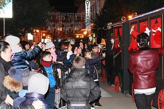 Noicattaro. Inaugurazione Casa Babbo Natale 2015 front