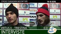 Virtus V.-Triestina del 18-12-16