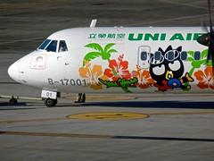 "UNI Air ATR-72-600  B-17001 ""Bad Badtz-Maru"" Special Livery TSA/RCSS"