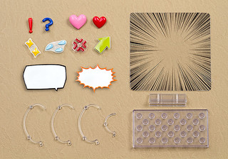讓你的黏土人表現各種心情! 黏土人配件系列 裝飾配件03 ねんどろいどもあ アフターパーツ03