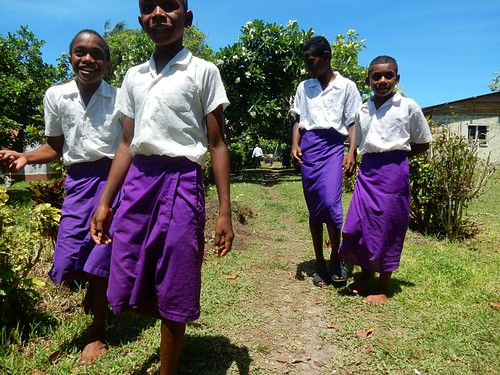 Kids in Nacula village