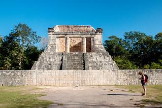 Chichen Itzá közelében San Felipe Nuevo képe. 2017 mexico yucatan january winter mayan chichenitza ruins mexique estadosunidosmexicanos templonorte mexiko 墨西哥